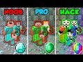 Download Lagu Minecraft NOOB vs. PRO vs. HACKER: FAMILY MINING CHALLENGE in Minecraft! (Animation) Mp3 Free