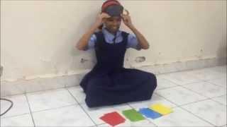 Blindfold Exercise - Colour Identification