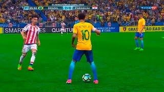 Brazil 3-0 Paraguay, World Cup 2018 Qualifiers. Facebook: https://www.facebook.com/NJR10HD Twitter: ...