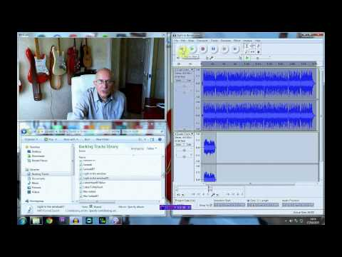 Recording Guitar with Audacity using a backing track – Dave Monk