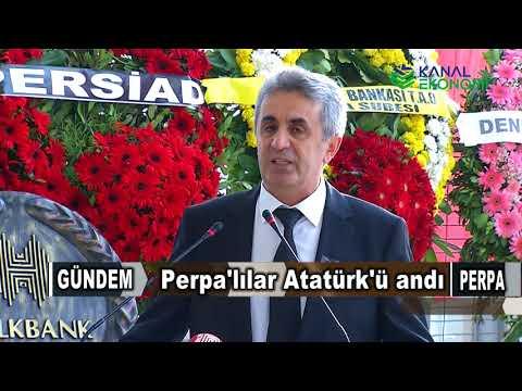 Atatürk Anma 2017 Kanal Ekonomi