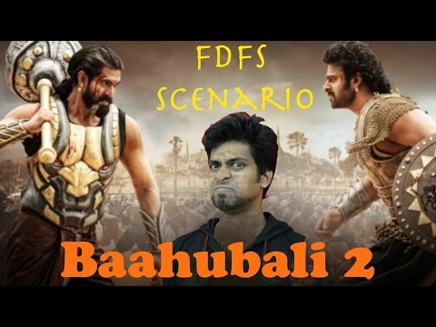 BAAHUBALI 2 - First Day First Show Scenario - with English Subtitles | Mr Earphones ( BC_BotM )