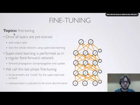 Neural networks [7.3] : Deep learning - unsupervised pre-training