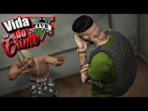 GTA V : VIDA DO CRIME : O BARBA NEGRA É UM COVARDE SEM LIMITES! : EP. 43