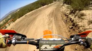 5. 2015 KTM 300 xc * First Ride & Review & Crash