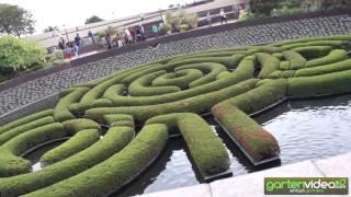 #985 Central Garden - Sunken Garden mit Azaleen Labyrinth
