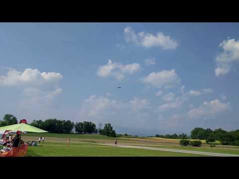 35 000 dollarin RC-lennokki syöksyy maahan