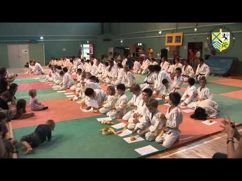 Gala de judo et récompenses aux sportifs 2012