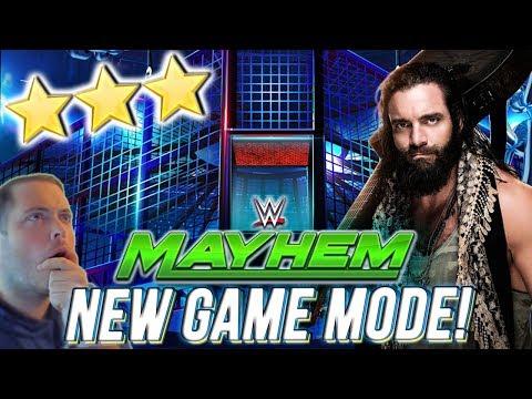 NEW ELIMINATION CHAMBER MODE & GAMEPLAY! 3 STAR REWARDS!   WWE MAYHEM
