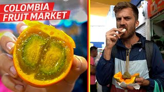 Tasting Some of the Wildest Fruits at Bogotá's Paloquemao Market  —Borders by Eater
