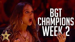 Britain's Got Talent: The Champions Auditions! | WEEK 2 | Got Talent Global