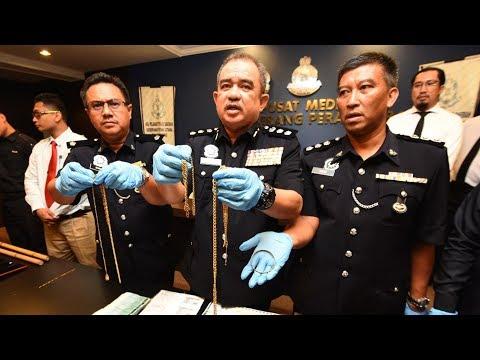 Robber targeting senior folks is finally nabbed in Penang