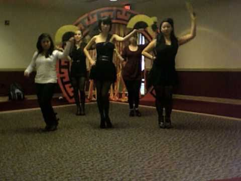 Brown Eyed Girls- Sign dance by the S-Girls + Bloopers