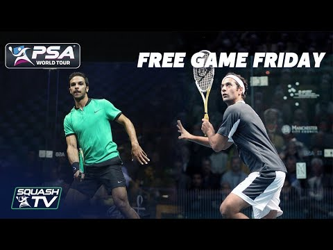 Squash: Shabana v Abouelghar - Free Game Friday - Grasshopper Cup 2014