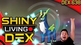 EPIC SHINY COBALION!! Live Reaction! Quest For Shiny Living Dex #638 | Pokemon ORAS by aDrive