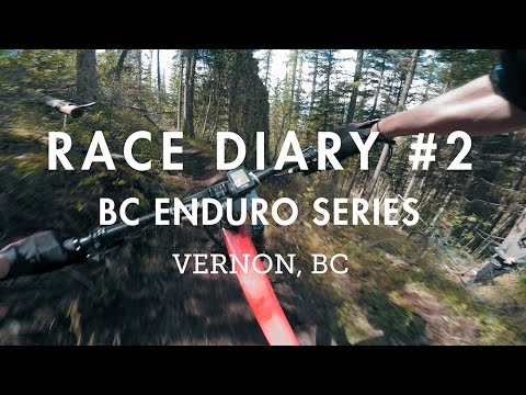 Race Diary #2 - BC Enduro in Vernon, BC | Wet fun!