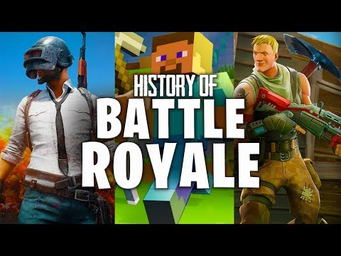 History Of Battle Royale Games