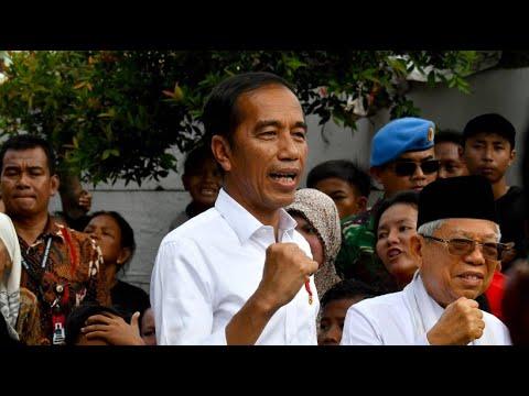 Indonesien: Amtsinhaber Widodo bleibt nach der Präsid ...