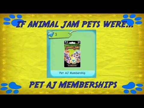 Video Animal Jam: If Animal Jam Pets Were Pet AJ Memberships download in MP3, 3GP, MP4, WEBM, AVI, FLV January 2017