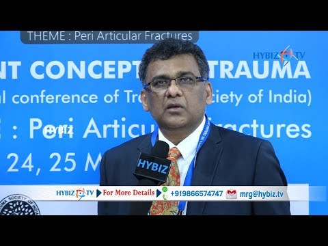 Dr Krishnaiah about Current Concepts in Trauma