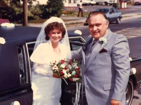 Our 1984 wedding