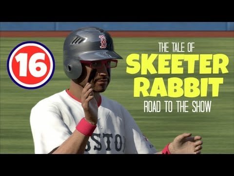 MLB 13 The Show - The Tale of Skeeter Rabbit (Road To The Show) EP16 - Opening Day 2017