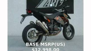 6. 2007 KTM Supermoto 950 -  Specification Features Top Speed Info Engine Specs motorbike