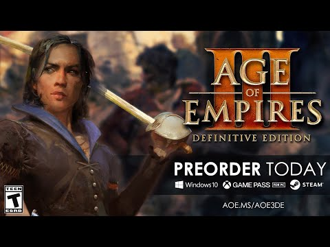 《世紀帝國 3 決定版》將於10月15日在Steam和Win 10推出,支援4K