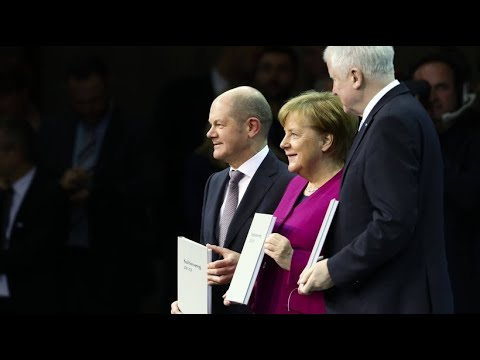Große Koalition: Weniger erreichte Ziele, mehr Streit