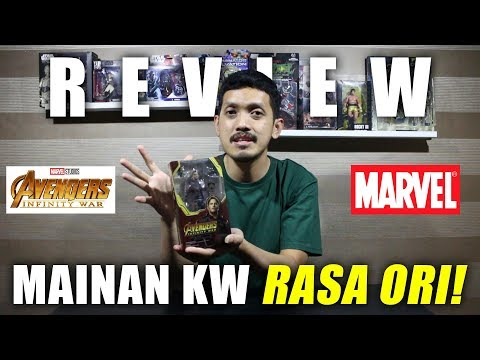 REVIEW Mainan SHF KW SUPER Avengers Infinity War MURAH!