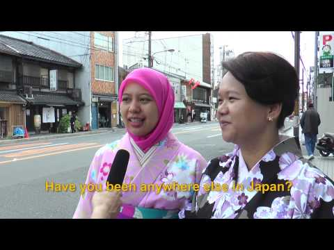Travelers' Voice of Kyoto:GION Area Interview 008