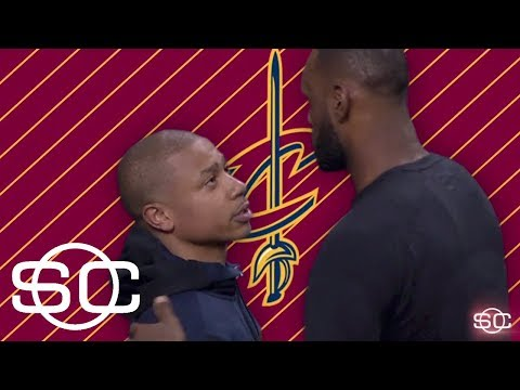 LeBron James and Isaiah Thomas share mutual respect | SportsCenter | ESPN
