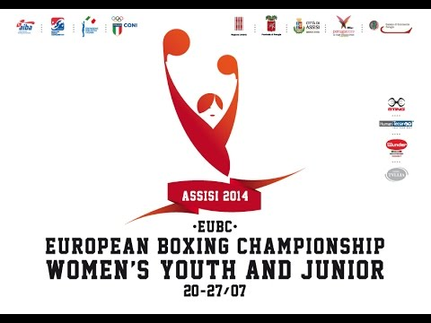 Euro - Assisi14 EUBC Euro Women's Junior Youth Boxing Championships - FINALS - 23 Matches (13 Junior and 10 Youth) on Schedule first gong at 2pm ROME TIME.