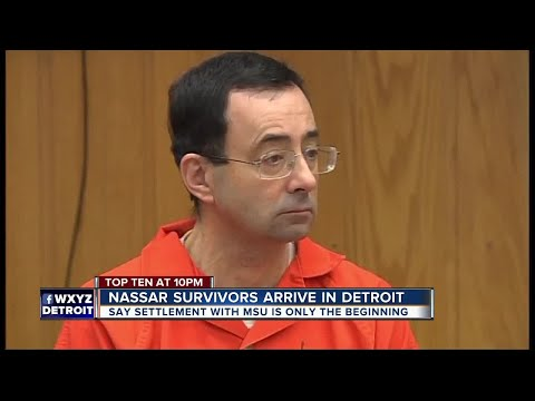 Michigan State will pay $500 million to Nassar survivors in settlement