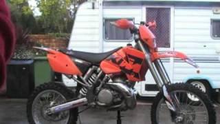 6. 2004 KTM 250 exc
