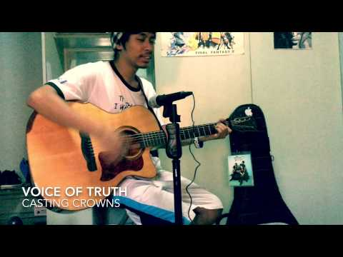 Voice of Truth (acoustic cover) by Casting Crowns (видео)