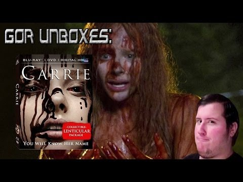 "Carrie (2013) ""2-Disc Blu-Ray"" - Unboxing"