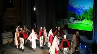 Vallja E Shestanit  -  100 Vjetori I Flamurit Kombetar - Shkoder 24.03.wmv