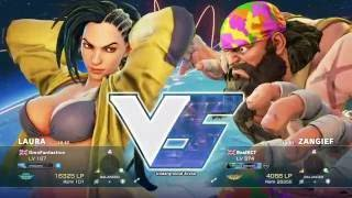 A best of three set on August 19th 2016 between Bonita Boi's GinoDacampo/GinoFantastico (Laura) and RealKCT (Zangief).You can watch & follow Gino's twitch channel at: https://www.twitch.tv/ginodacampo