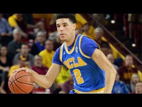 Lonzo Ball Leaves Game With Injury, Returns Creating Highlight Alley-Oops | CampusInsiders (видео)