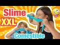 Como hacer SLIME XXL COMESTIBLE ! | ( SLIME con DIPPERS )