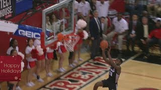 Alpha Diallo Double Double vs. St. John's