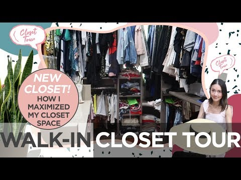 Walk-In Closet Tour | Camille Co