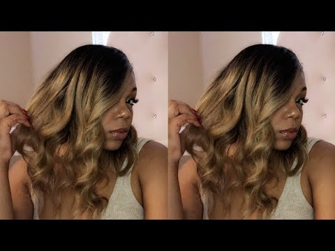 Ciara Ombré Honey Blonde Wig with a Twist