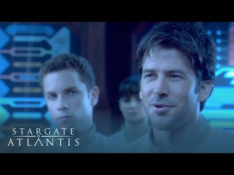 Sheppard Meets The Captain Of The Aurora | Stargate Atlantis