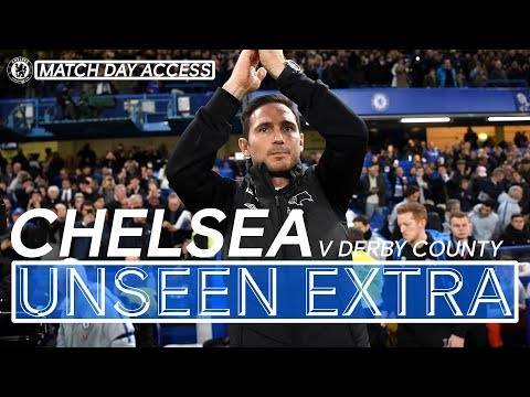 Video: Tunnel Access: The Moment Lampard Came Home, Blues Into Cup Quarter-Finals | Unseen Extra