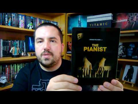 The Pianist Bluray Steelbook Edition KimchiDVD Unboxing