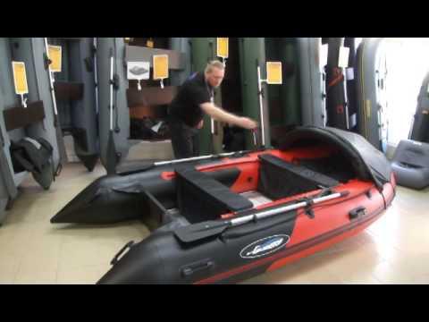 Обзор: лодка Гладиатор С 370 АL - DomaVideo.Ru