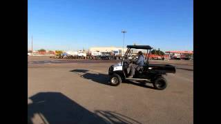5. Sold! 2010 Club Car Bobcat 2200D 4x4 Diesel Utility Cart UTV Dump bidadoo.com