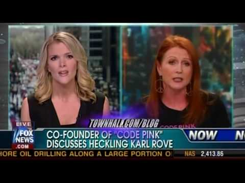 Megyn Kelly vs. Rove's CODEPINK Heckler